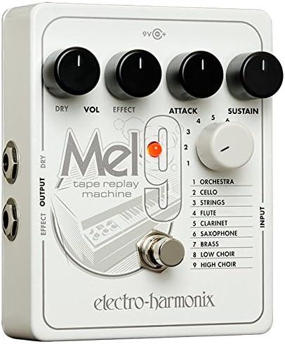 Electro Harmonix 665241efecto de guitarra eléctrica con sintetizador Filtro MEL9, Tape Replay Mach.