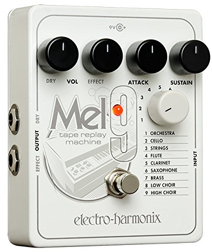 Electro-Harmonix MEL9 EQ Effects Pedal (Best Phaser Pedal Ever)