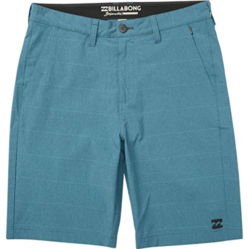 Billabong Surf Shorts (Billabong Men's Crossfire X Stripe Stretch Submersible Short, Aqua, 34)