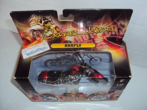 Jesse James Muscle Machines 1 :18 Die Cast Barfly Motorcycle (Bike West Coast Choppers)
