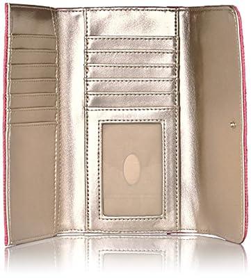 GUESS Jordyn Slim Clutch - White Wallet