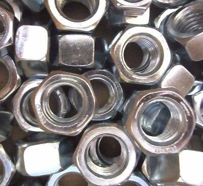 9//16-12 Hex Nut Grade 5 Zinc 200 Pieces 200