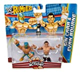 WWE Rumblers Sin Cara and Evan Bourne Figure 2-Pack