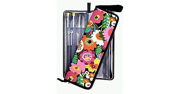 Amazon.com: Estuche de agujas para tejer (Organizador Bolsa ...