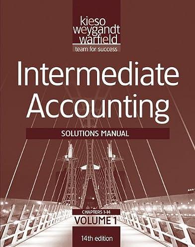 amazon com solutions manual v1 t a intermediate accounting 14th rh amazon com intermediate accounting 14th edition solutions manual free intermediate accounting 14th edition solutions manual pdf free