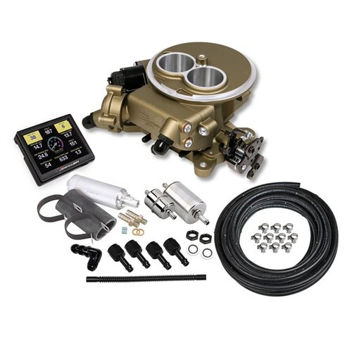 Holley 550-851K Self-Tuning Master Kit 2300 Flange Carb Replacement w/Hardware Classic Gold Finish
