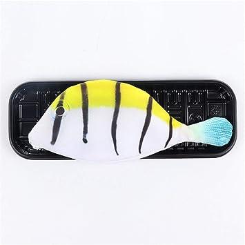 Cremallera Lápiz Estuche de lápices con cremallera Papelería Estuche de lápices con forma de pez marino 4 Bolsa de almacenamiento en forma de pez de alta simulación opcional Niño Chica Estudiante Esen: