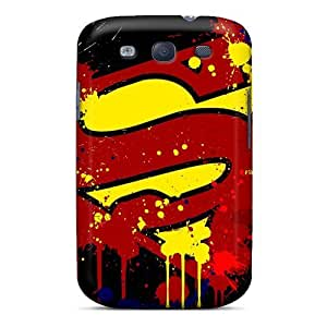 Best Hard Cell-phone Cases For Samsung Galaxy S3 With Customized High Resolution Superman Pictures JohnPrimeauMaurice
