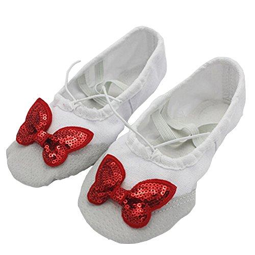 Lisianthus002 - Zapatillas de danza de Lona para niña multicolor - D
