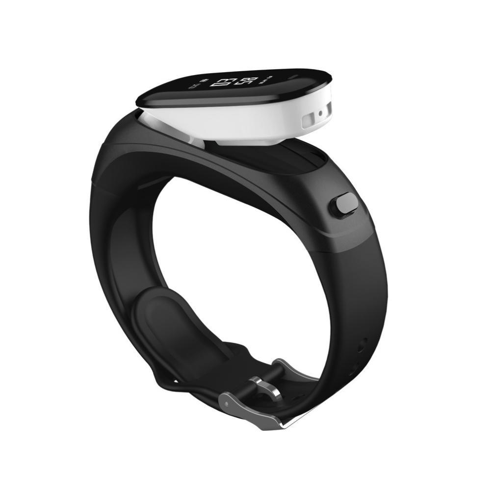 ximandi Fitness Trackerスマート時計、[ハートレートトラッカー] [血圧モニタ] [ Sleep Monitor ] [サポートSiriに答え電話] Fitness Wrist Watch for AndroidとiOS  ブラック B07F6JMF3H