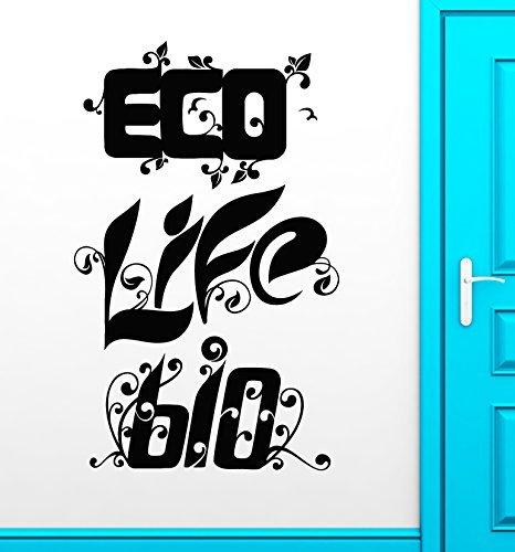little-angle-eco-life-bio-wall-stickers-greenpeace-environmental-health-nature-vinyl-decal-ig2451