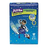 Pull-Ups Night-Time Training Pants 3T-4T Boy, Mega Pack, 35-Count