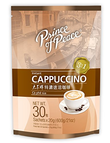Prince of Peace® 3 in 1 Instant Cappuccino (30 Sachets)