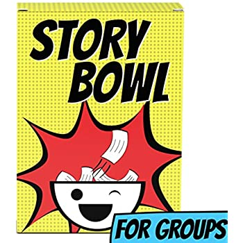 Story Bowl: The Party Game for Groups | Adults, Teens, or Kids | Small or Large Groups | Family Holidays and Christmas