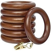 Kirsch Drapery Ring w/Eyelet Wood Trends - 2