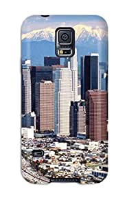 High Grade Valerie Lyn Miller Flexible Tpu Case For Galaxy S5 - Los Angeles City