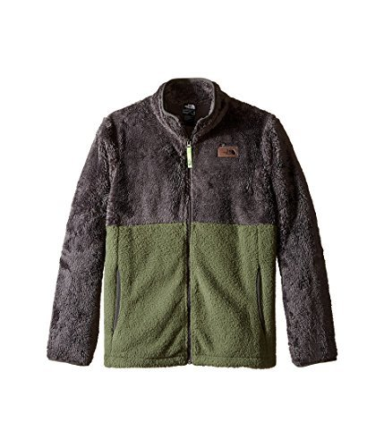 (The North Face Kids Boy's Sherparazo Jacket (Little Kids/Big Kids) Terrarium Green (Prior Season) X-Large)