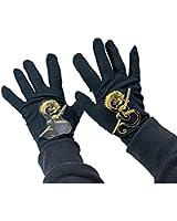Rubies Child's Black Ninja Gloves
