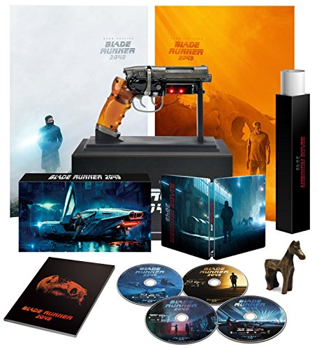 Blade Runner 2049 Japanese Limited Premium Box Ultra Hd Blu Ray Steelbook With Neca Blaster Edition  Only 3000 Sets Available   Japan Import
