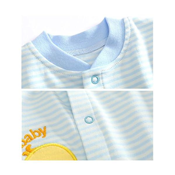 Bambino Pagliaccetto in Cotone Ragazze Ragazzi Pigiama Neonato Tutina Fumetto Outfits 2