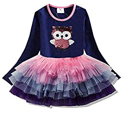 Long Sleeve Toddler Flower Girl Dress