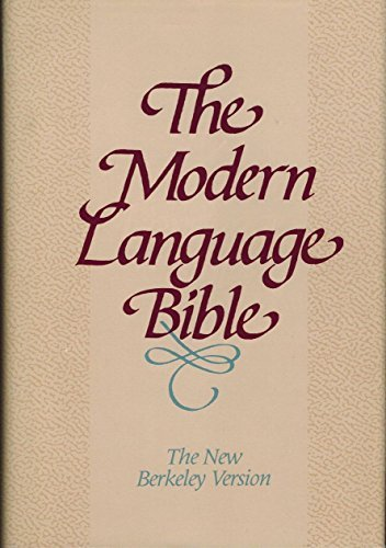 Modern Language Bible by Hendrickson Pub