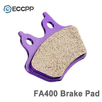 ECCPP Front+Rear Carbon Fiber Brake Pads For Harley-Davidson Dyna Electra Glide Road Glide Road King Street Glide FA400: Automotive