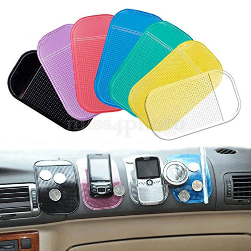 LIAN-5Pc Silicone Sticky Pad Anti-Slip Mat Gel Dash Car Mount Holder For Cell - Sunglasses Online Australian