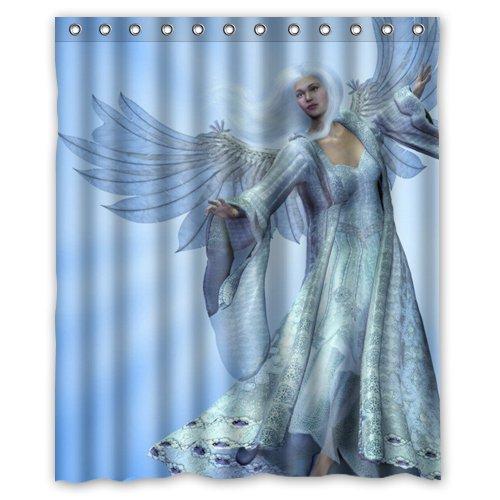 Amazon Christmas Beautiful Angels Shower Curtain 60 X 72 Inch Bathroom Home Kitchen