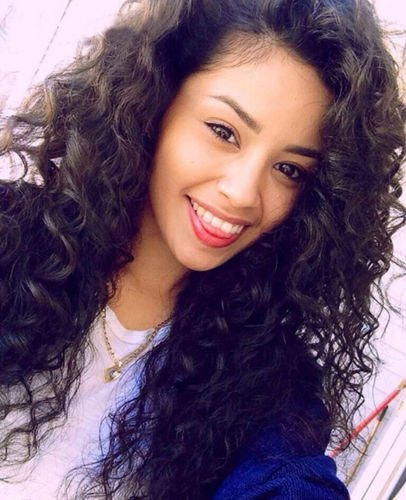 Remeehi Natural Loose Curly Wave 100% Remy Human Hair Lace Front Wig Bleached Knots 12 Inch 1b-30# Highlights