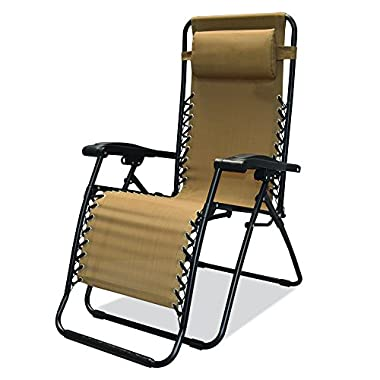 Caravan Sports Infinity Zero Gravity Chair, Beige