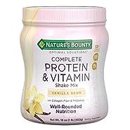 Nature's Bounty Optimal Solutions Protein & Vitamin Shake Vanilla