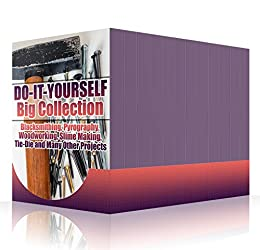 Amazon do it yourself big collection blacksmithing pyrography do it yourself big collection blacksmithing pyrography woodworking slime making solutioingenieria Choice Image