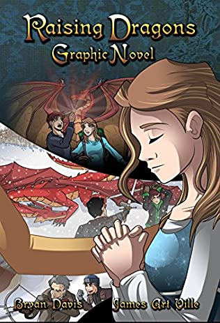 book cover of Raising Dragons Graphic Novel