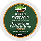 Green Mountain Coffee Roasters Colombian Fair Trade Select Decaf Keurig Single-Serve K-Cup Pods, Medium Roast Coffee, 72 Count (6 Boxes of 12 Pods)