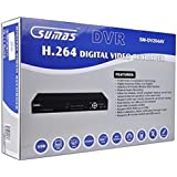Sumas 4-Ch Standalone Network DVR Surveillance Kit w/Smartphone Remote Access, USB & VGA - Just Add Hard Drive & Cams!