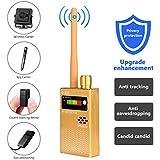 Eilimy Anti-spy Wireless RF Signal Detector Set [Upgrade Enhanced] Bug GPS Camera Signal Detector, for Detecting Hidden Camera GPS Tracker Wireless Signal Detector(Ultra-high Sensitivity)