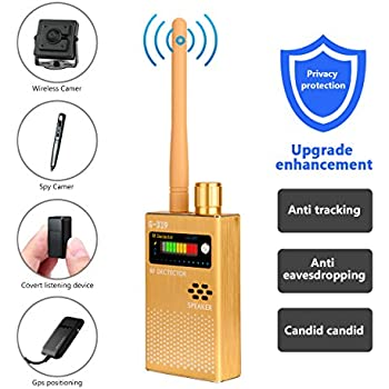 Eilimy Anti-spy Wireless RF Signal Detector Set [Upgrade Enhanced] Bug GPS Camera Signal Detector, for Detecting Hidden Camera GPS Tracker Wireless Signal ...