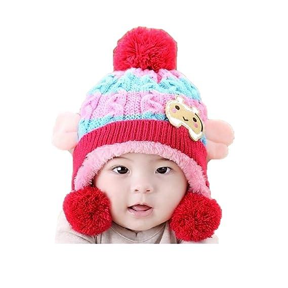 Image result for Malvina Infant Toddler Baby Winter Hat Warm Woolen