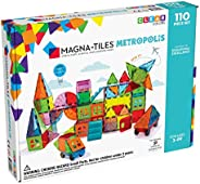 Magna Tiles Metropolis Set, The Original Magnetic Building Tiles for Creative Open-Ended Play, Educational Toy