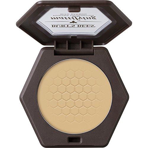 Burt's Bees 100% Natural Mattifying Powder Foundation, Vanilla, 0.3 oz