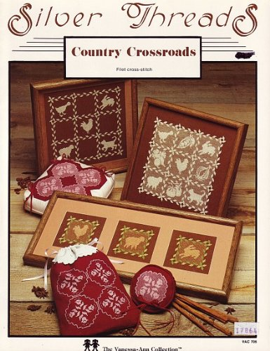 The Vanessa-Ann Collection Country Crossroads Filet Cross Stitch Pattern Chart