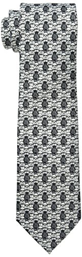 (Star Wars Men's Vader's Army Tie, White, One)