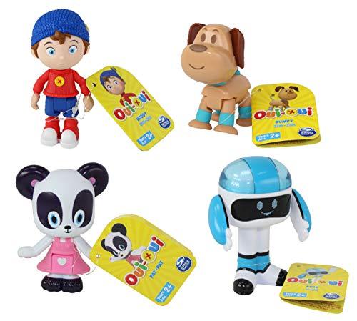 Noddy DreamWorks Toyland Detective 4 Piece Figure Set, Bumpy Dog, Pat-Pat & Fuse