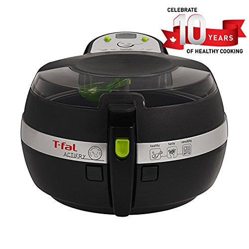 T-Fal ActiFry ar Fryer, Air Fryer Cookbook, baixo teor de gordura, 2,2 libras