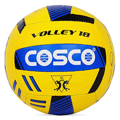 Cosco Volley 18 Volley Ball, Size 4