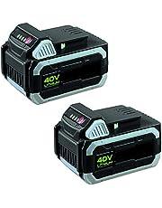 IKRA dubbelpak 2 batterijen reserve accu 40 V 2,5 Ah Li-ion ONE FOR ALL