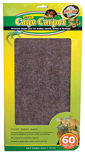 Zoo Med Cage Carpet - Zoo Med Laboratories - Cage Carpet 18x48/60g