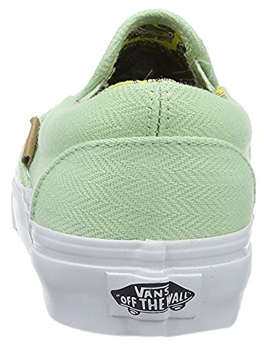 Vans SLIP-ON scarpe, VN0004OUIH0 Pastel green Sneaker donna