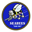 RDW CB Seabees Sticker - Die Cut - Decal - United States Naval Construction Forces ncf from RDW